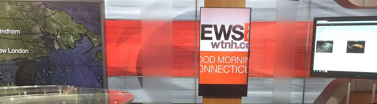 WTNH Channel 8 interior project